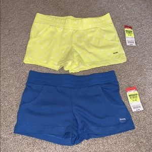 NWT 2 pair of girls shorts